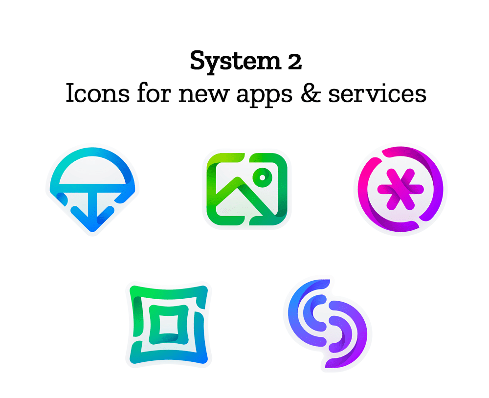 FirefoxSystem 2 Icons For New Apps   Services