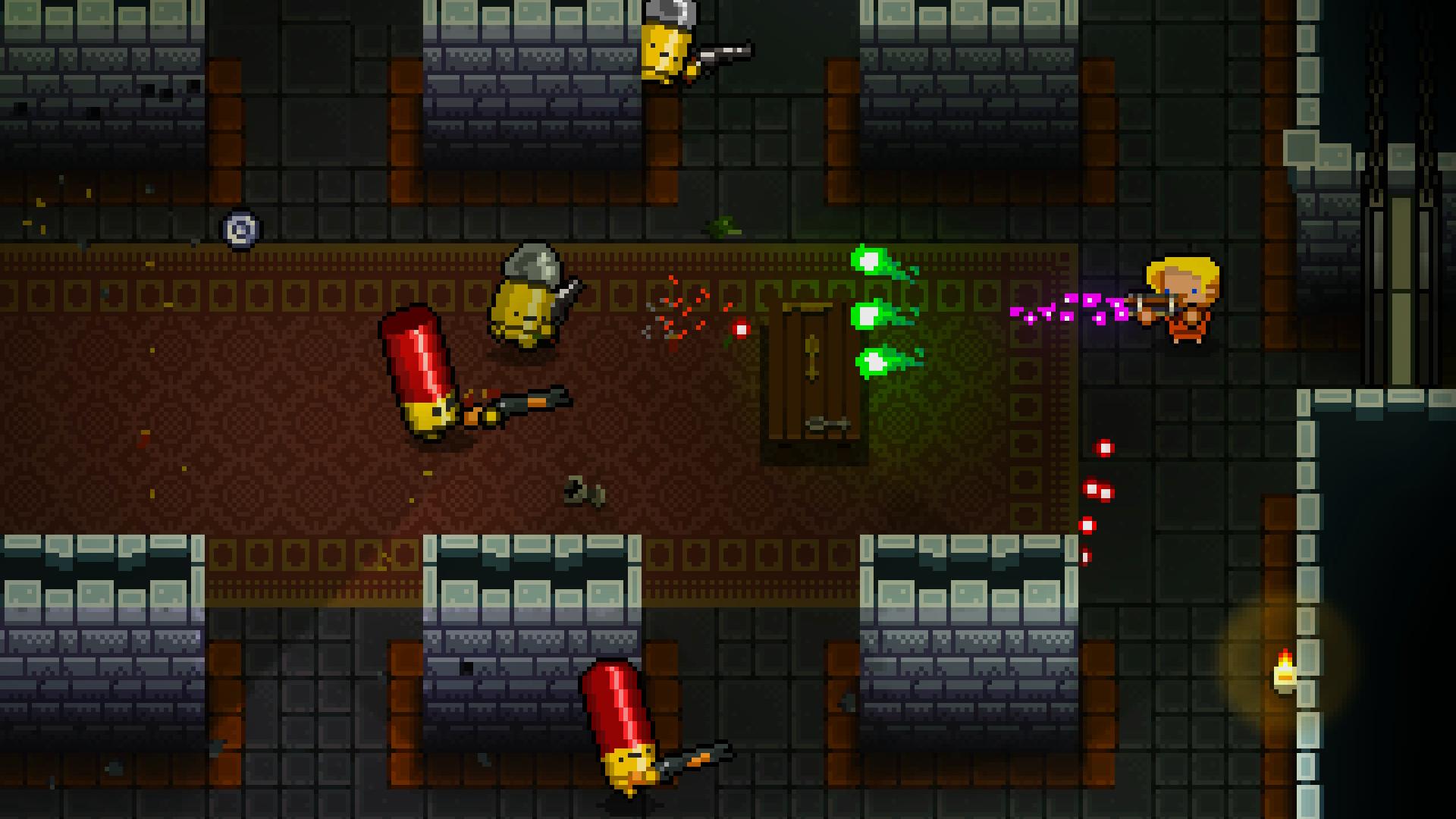 5 jogos da Steam que rodam em Linux - enter the gungeon