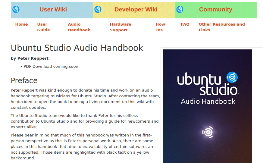 Manual Ubuntu Studio