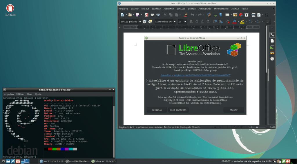 Como instalar a última versão do LibreOffice - LibreOffice no Debian