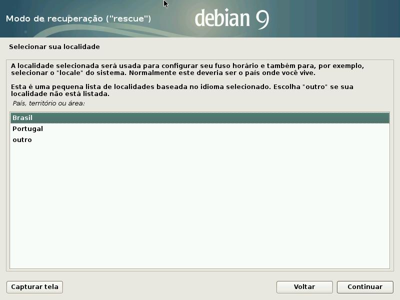 04 Recuperar Grub Do Debian Com Disco De Instalação