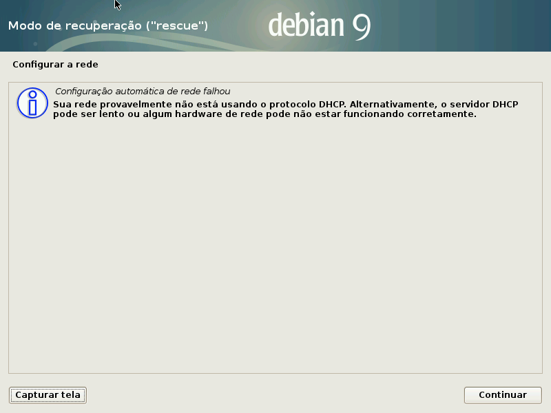 06 Recuperar Grub Do Debian Com Disco De Instalação