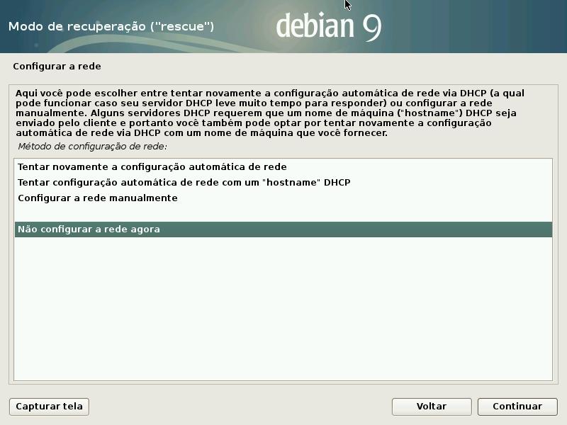 07 Recuperar Grub Do Debian Com Disco De Instalação