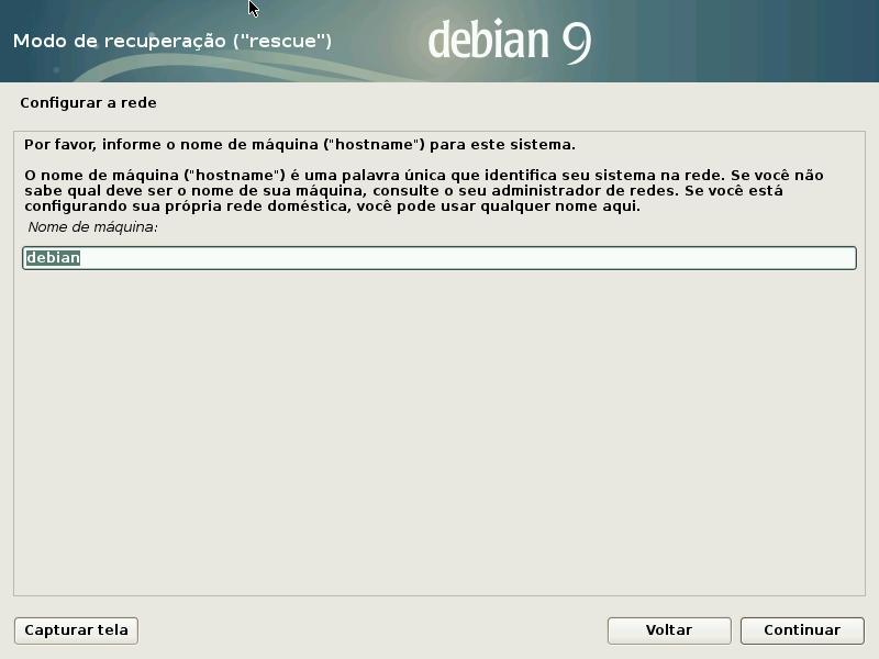 08 Recuperar Grub Do Debian Com Disco De Instalação