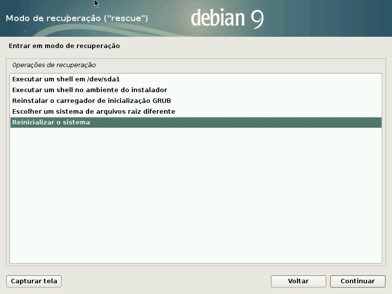 14 Recuperar Grub Do Debian Com Disco De Instalação