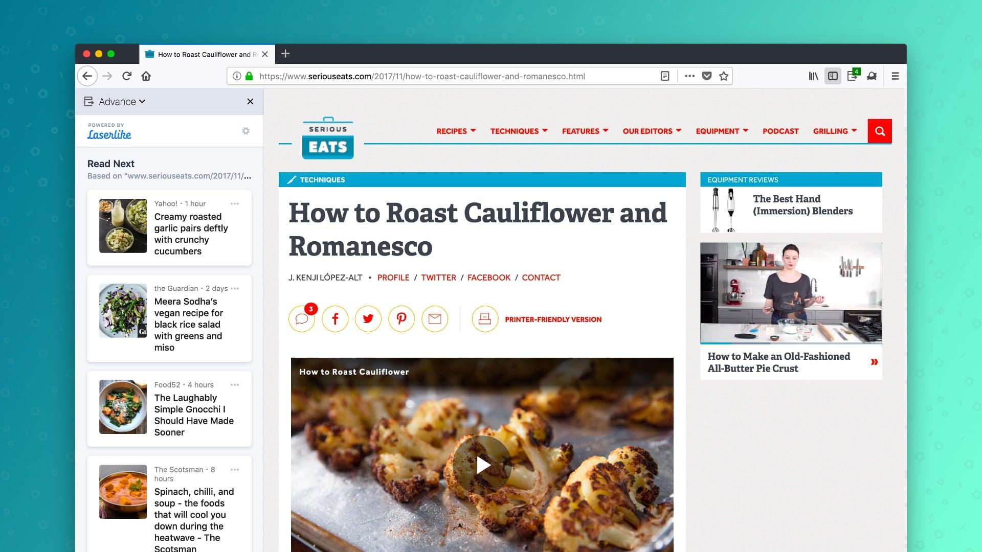 Extensão sugere novos sites e notícias no Firefox