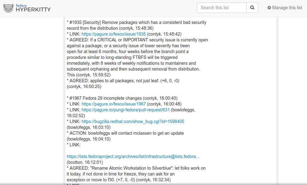 Fedora removerá pacotes inseguros de repositório