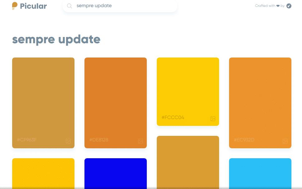 Conheça Picular, o Google das cores