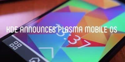 KDE Plasma Mobile ganha nova tela de bloqueio e teclado virtual