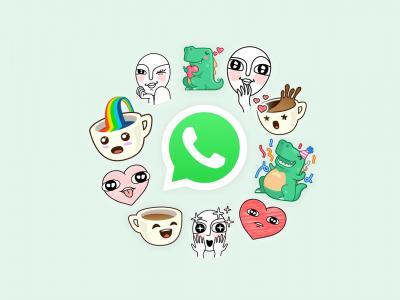 Whatsapp finalmente adiciona stickers