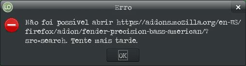 Como adicionar tema no LibreOffice - Opções do LibreOffice Personalização url erro