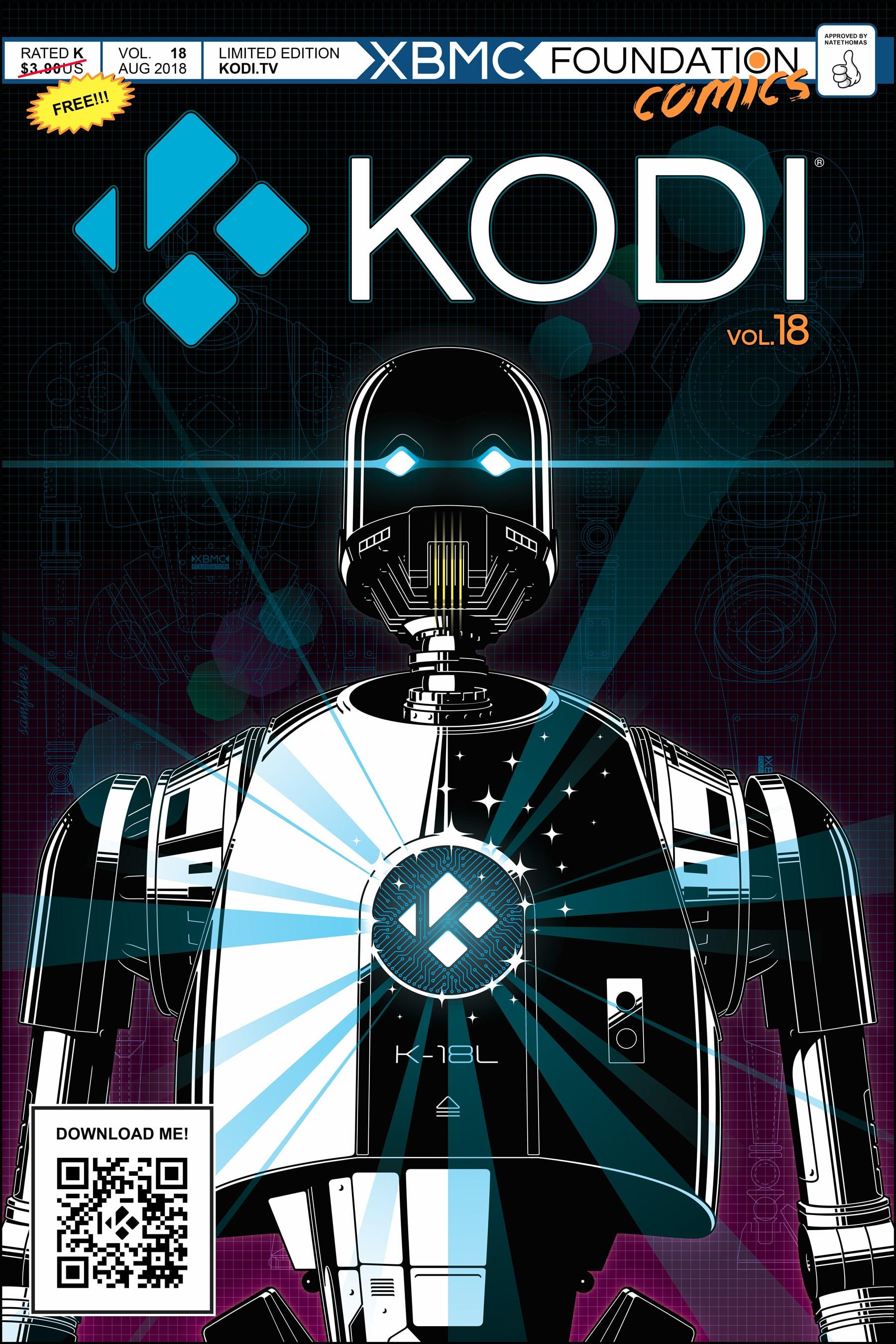 Kodi 18 terá suporte para DRM e TV