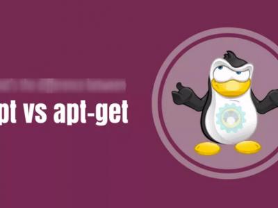 Qual a diferença entre comandos apt e apt-get?