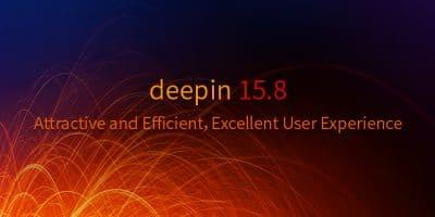 Conheça as novidades do Deepin 15.8