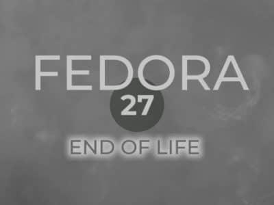 Fedora 27 entra na fase de fim de vida útil