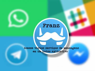 Como instalar o aplicativo de mensagens Franz