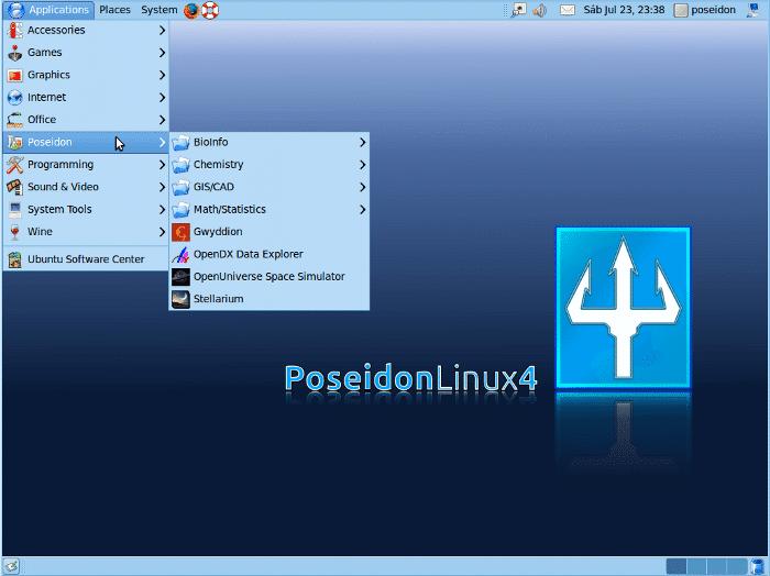 Distribuição brasileira Poseidon está novamente ativa!