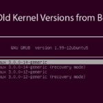 Como deletar kernel antigo do Ubuntu