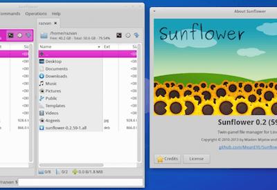 como-instalar-o-sunflower-um-gerenciador-de-arquivos-no-fedora-opensuse-centos-e-derivados