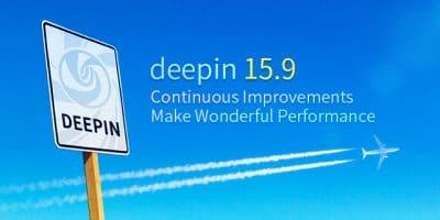 Deepin 15.9 lançado com melhorias e correções de bugs