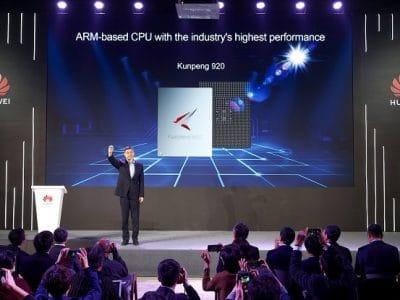 Huawei anuncia CPU Kunpeng 920