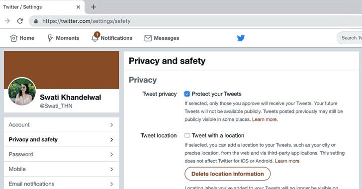 Bug deixa expostas mensagens privadas do Twitter