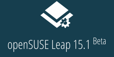 OpenSUSE Leap 15.1 tem versão beta