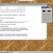 Executar Windows 95 no Linux, Mac e Windows 10 fica mais fácil