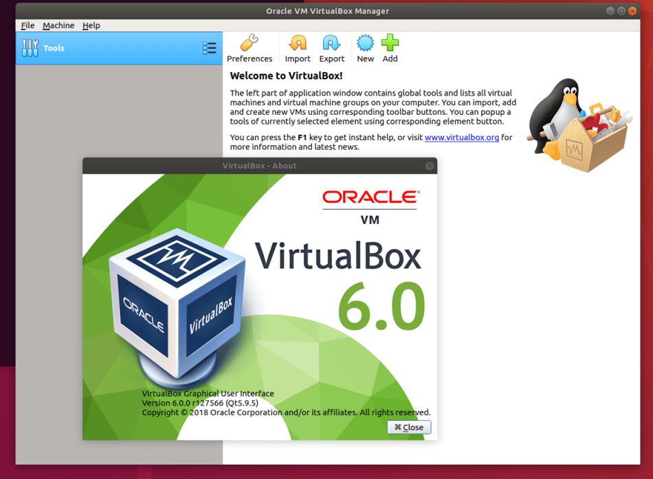 Como instalar o VirtualBox no Ubuntu 18.04 LTS