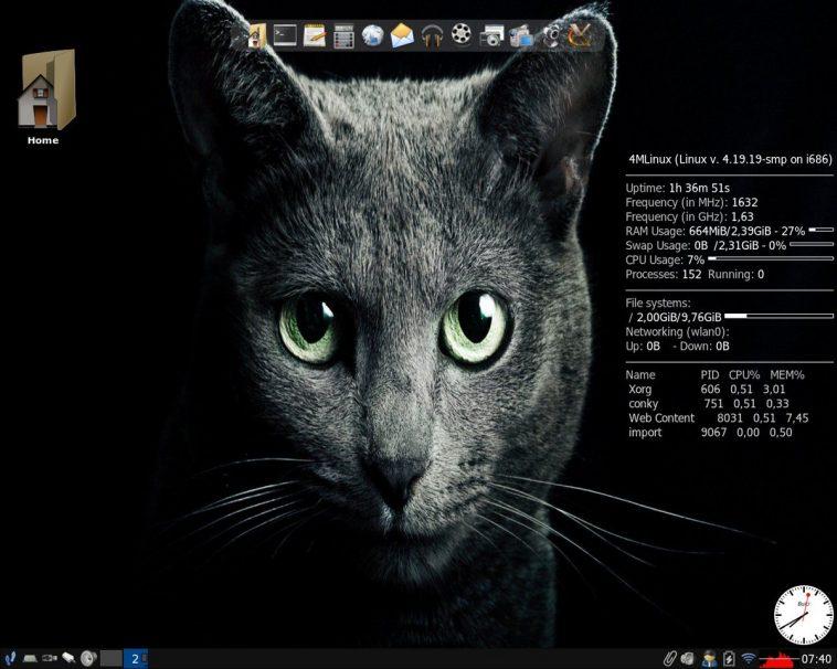 ReactOS, KaOS, Condres, 4MLinux, Linux from Scratch e SolydXK têm novas versões