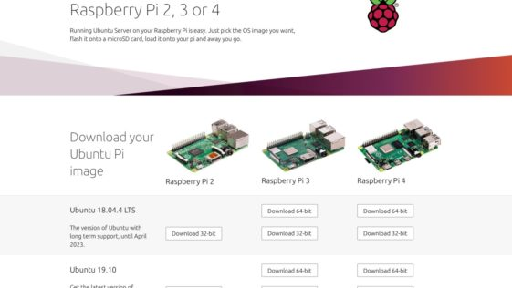 Canonical facilita o download do Ubuntu para Raspberry Pi