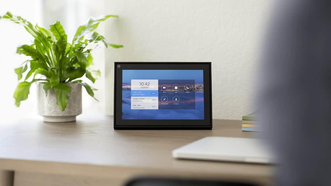 Zoom funcionará nos smart displays do Google, Amazon e Facebook
