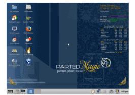 Parted Magic Distro muda para Xfce