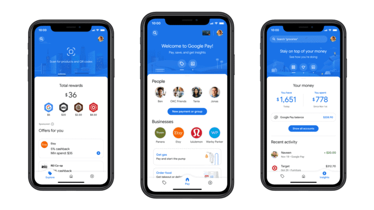 Google lança app reformulado do Google Pay