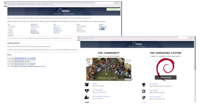 Projeto Debian moderniza site