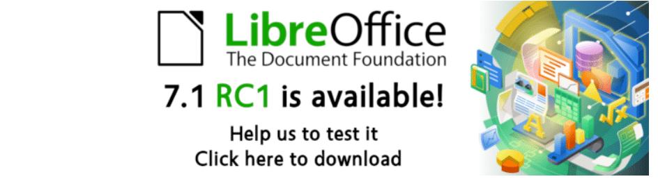 LibreOffice 7.1-RC1 lançado