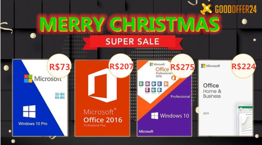 Windows 10 Pro somente R$ 73,98 na GoodOffer24
