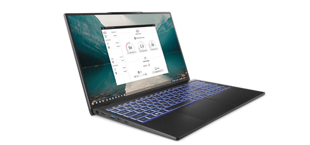 Laptop TUXEDO InfinityBook S 15 Linux é lançado com CPUs Tiger Lake e design ultrafino