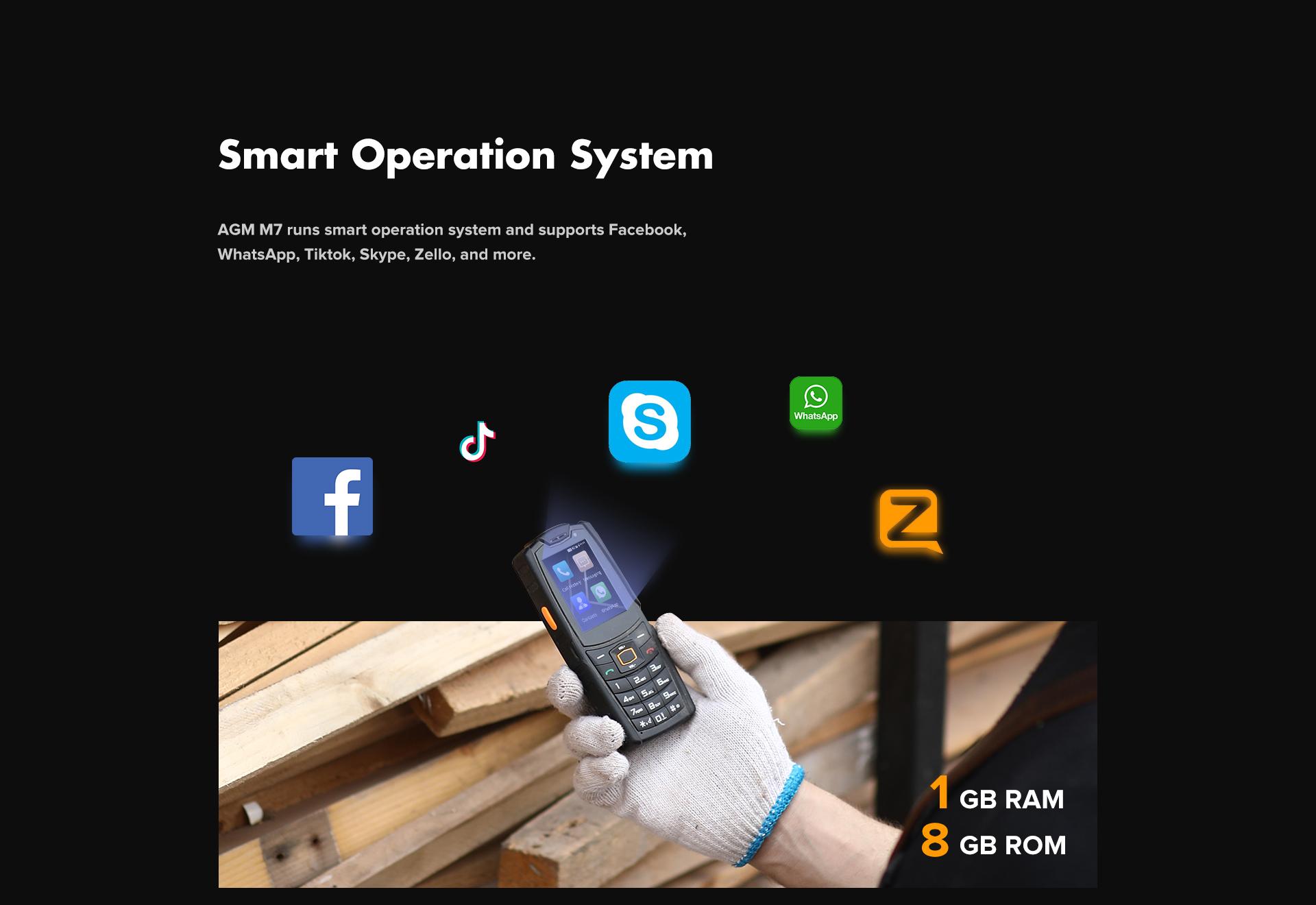 Conheça o smartphone AGM M7