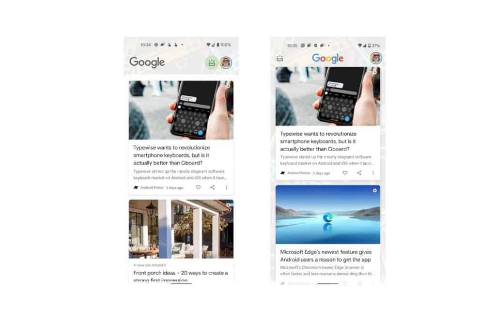 google-discover-passa-por-reformulacao-no-android-12