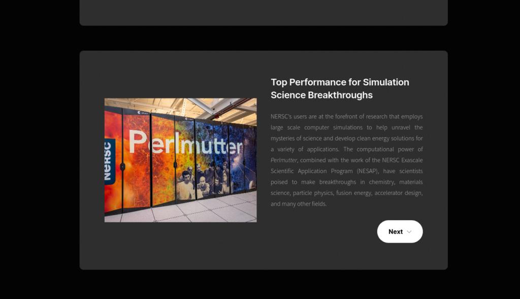 Processadores AMD EPYC aceleram a capacidade de computação de alto desempenho no supercomputador Perlmutter