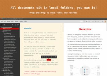 como-instalar-o-document-node-um-organizador-para-conteudo-markdown-ou-rich-text-no-ubuntu-linux-mint-fedora-debian