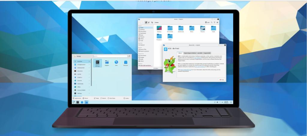 KDE Plasma 5.22 lançado com melhorias no suporte Wayland e na usabilidade