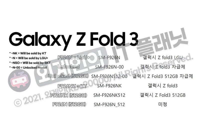 samsung-galaxy-z-fold-3-pode-ter-uma-opcao-de-armazenamento-de-512-gb