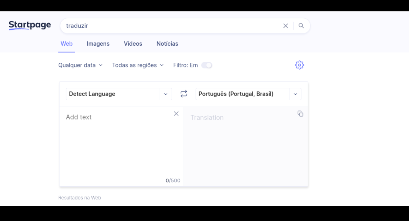 Startpage lança o Private Language Translator, alternativa ao Google Tradutor e com foco na privacidade
