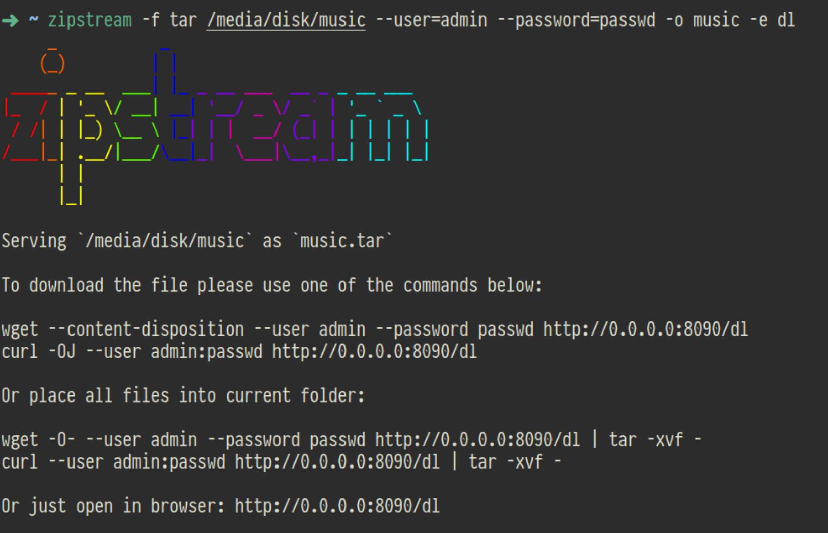 como-instalar-o-zipstream-um-aplicativo-para-compartilhar-arquivos-e-diretorios-na-rede-no-ubuntu-linux-mint-fedora-debian