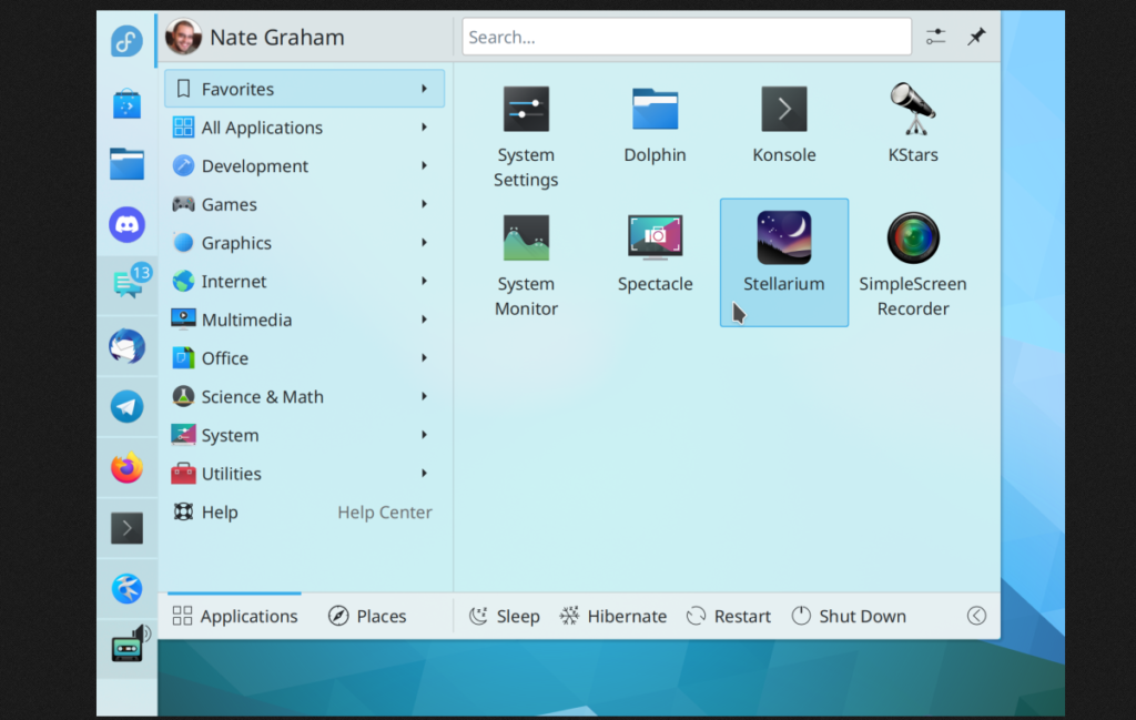 KDE torna mais fácil ajustar o perfil de energia do seu laptop