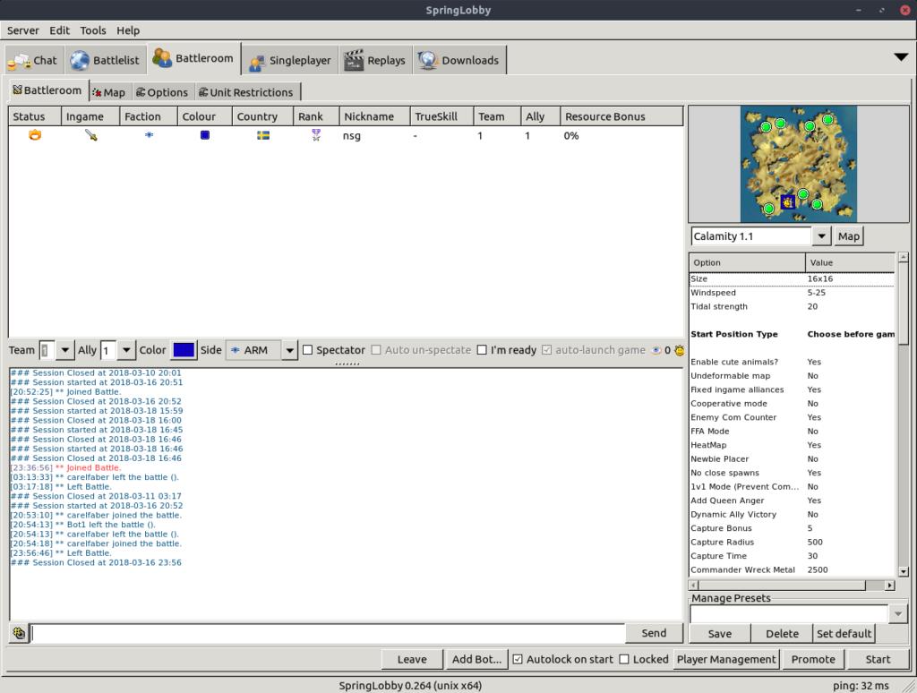 como-instalar-o-springlobby-um-motor-de-jogo-para-jogos-de-estilo-rts-no-ubuntu-linux-mint-fedora-debian
