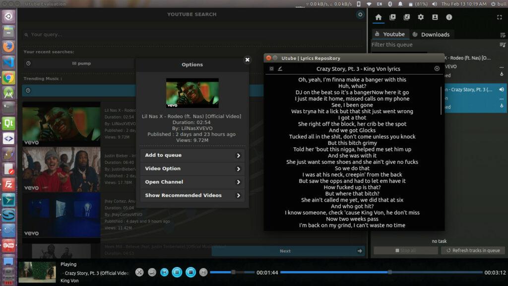 como-instalar-o-utube-um-downloader-e-reprodutor-de-videos-do-youtube-no-ubuntu-linux-mint-fedora-debian
