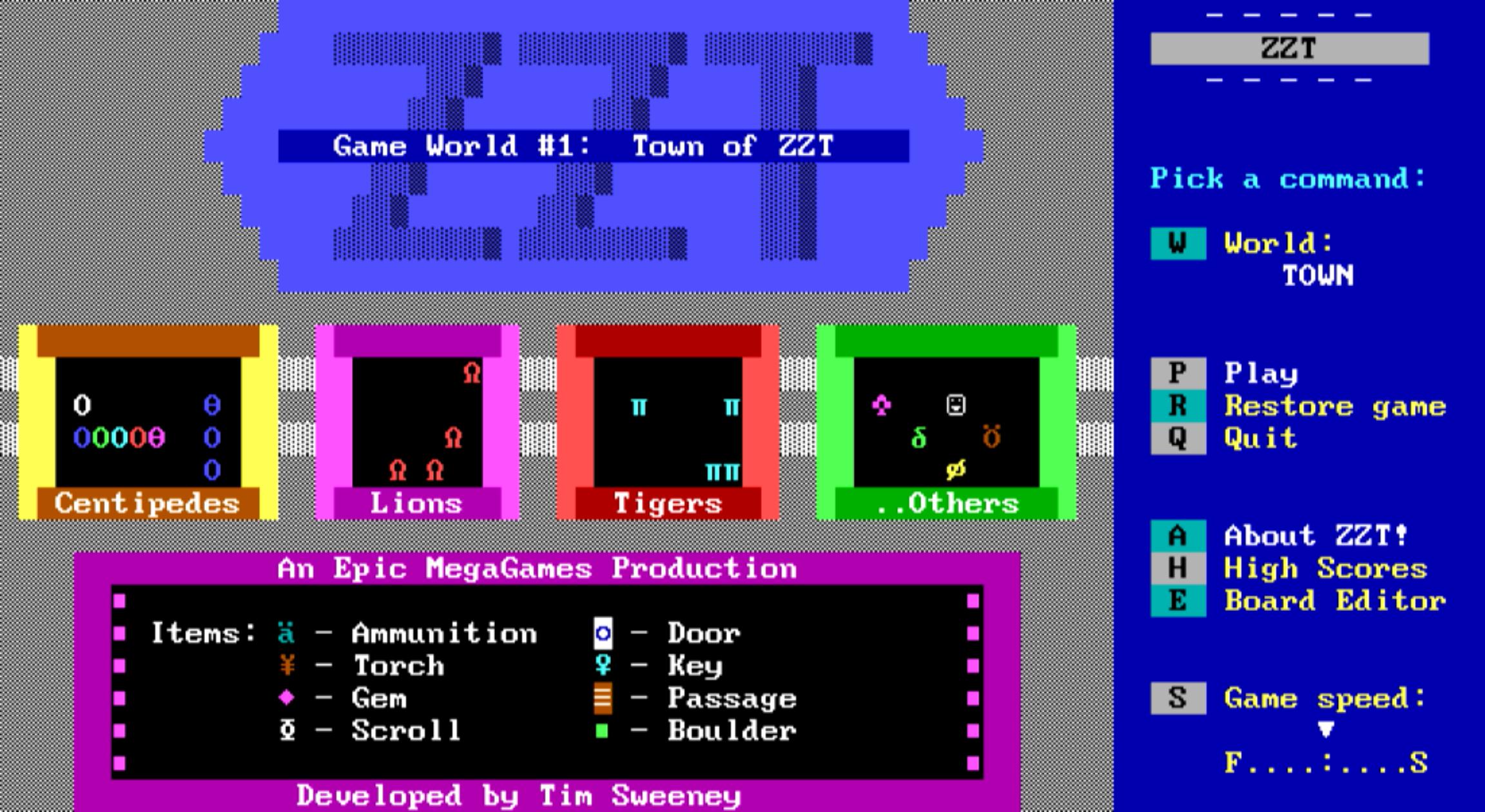 como-instalar-o-zzt-um-jogo-baseado-em-caracteres-ansi-no-ubuntu-linux-mint-fedora-debian